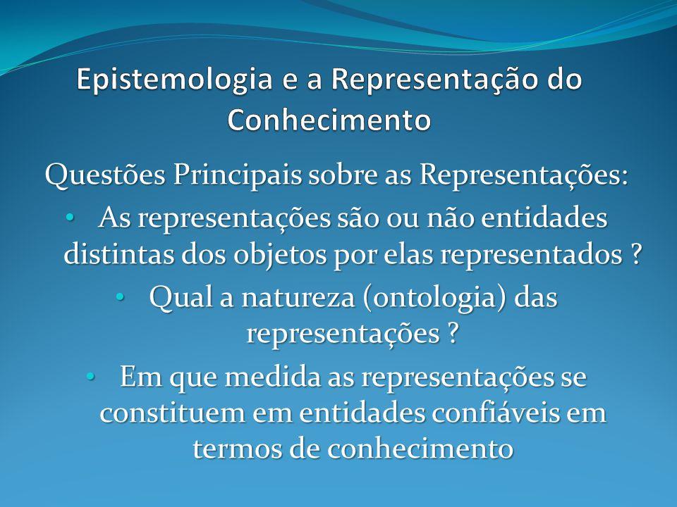Epistemologia e a Representação do Conhecimento