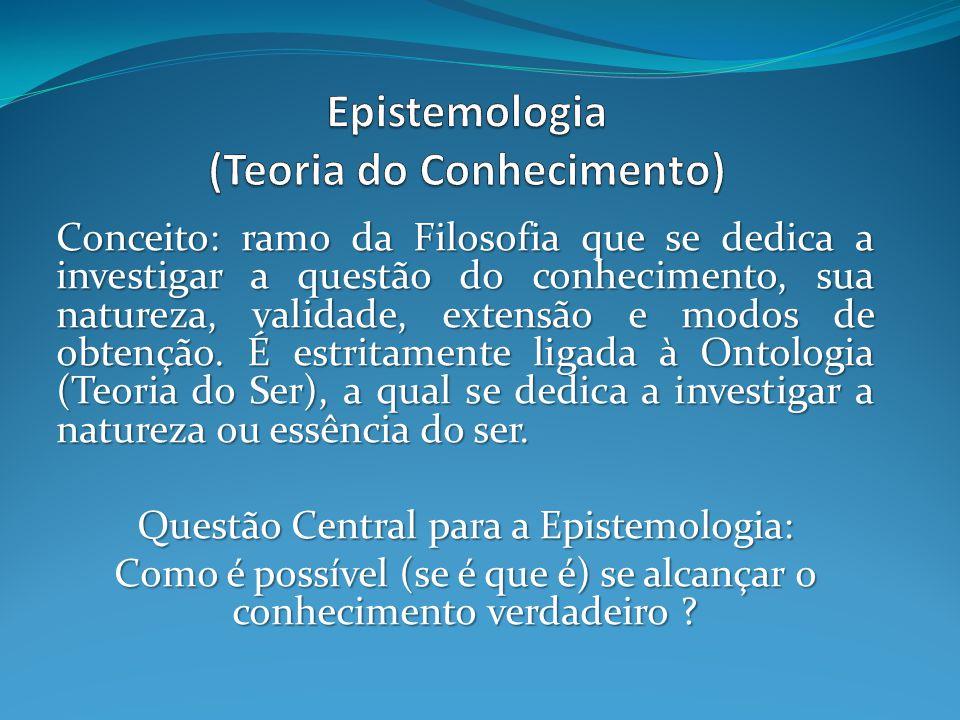 Epistemologia (Teoria do Conhecimento)