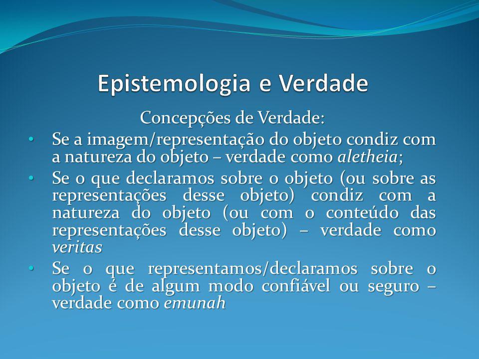 Epistemologia e Verdade