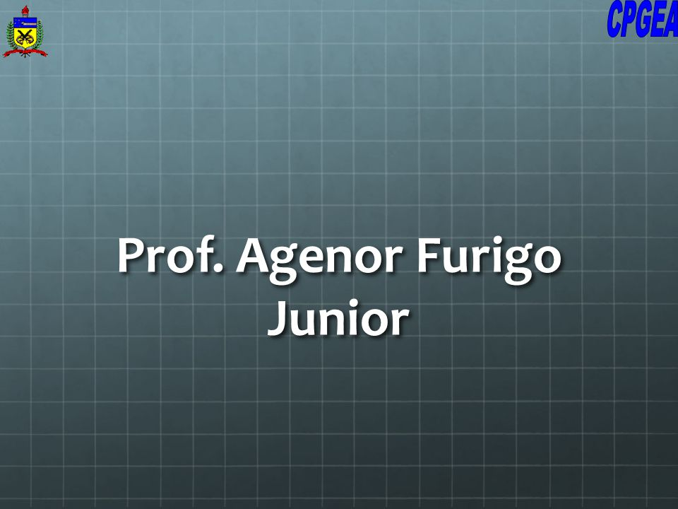 Prof. Agenor Furigo Junior