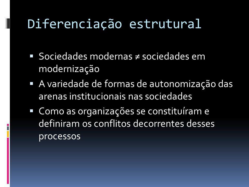 Diferenciação estrutural