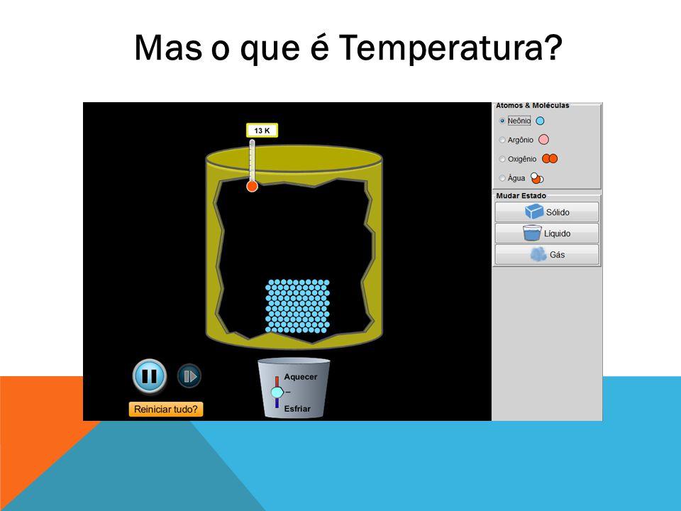 Mas o que é Temperatura