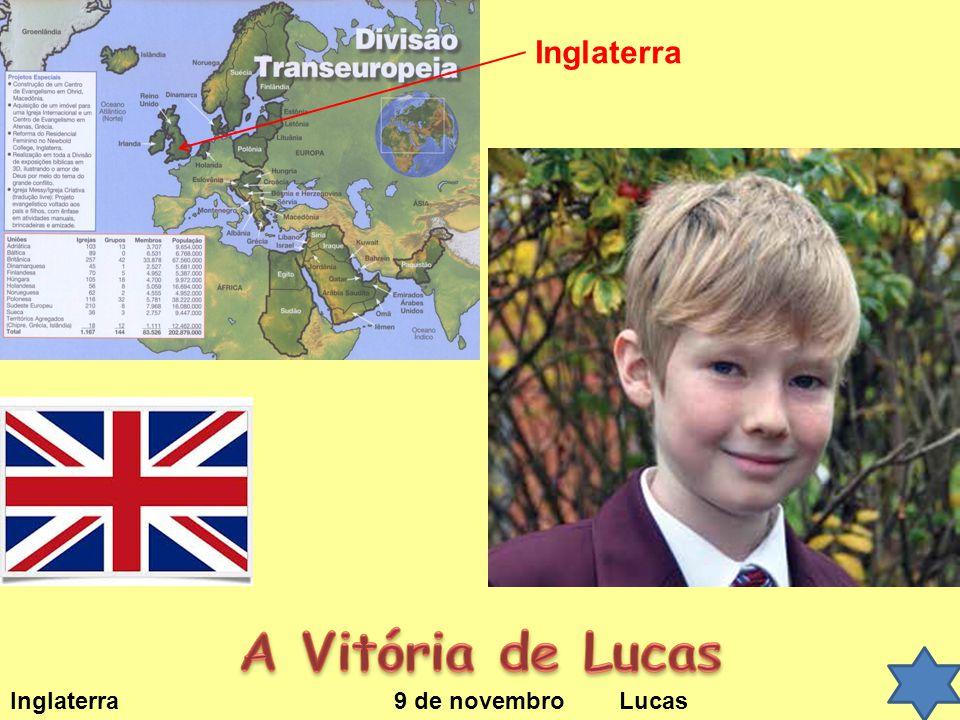 Inglaterra A Vitória de Lucas Inglaterra 9 de novembro Lucas
