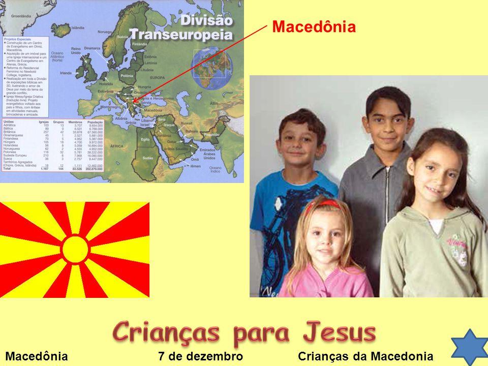 Crianças para Jesus Macedônia
