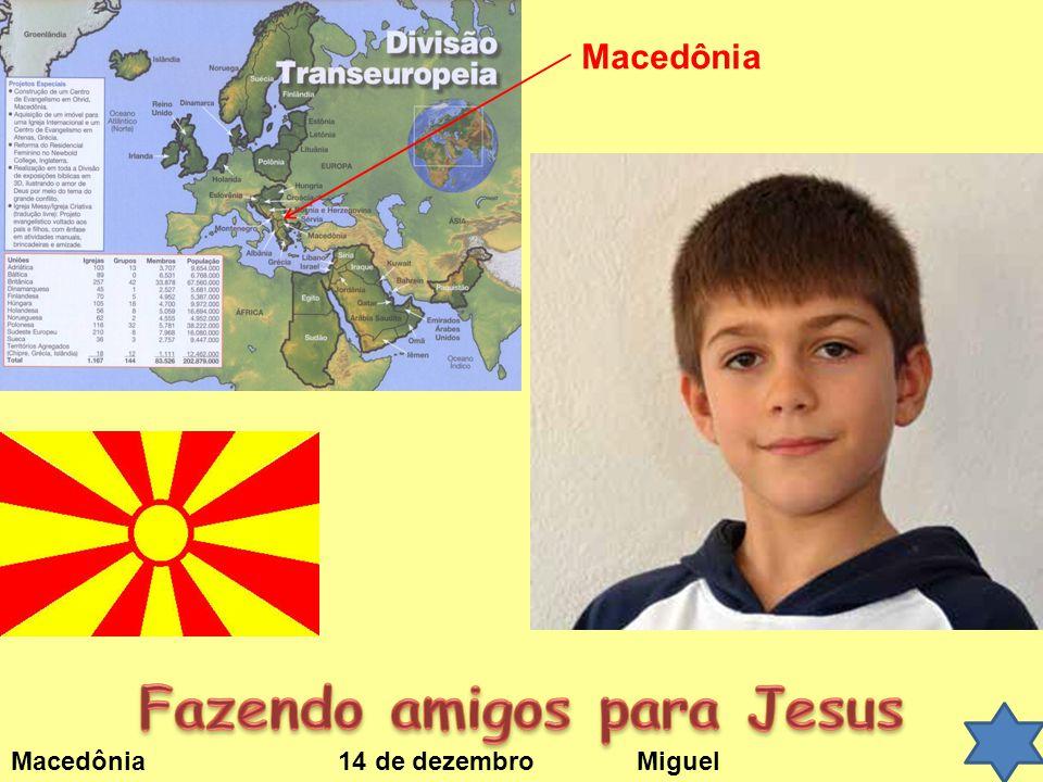 Fazendo amigos para Jesus