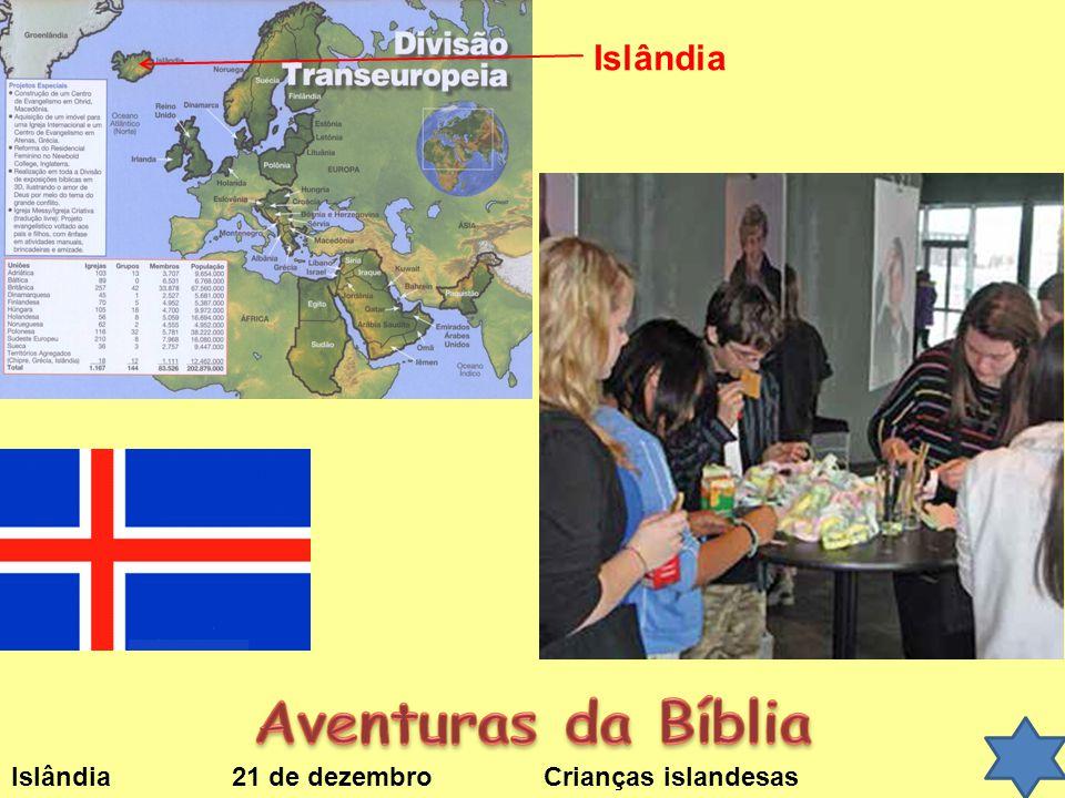 Aventuras da Bíblia Islândia