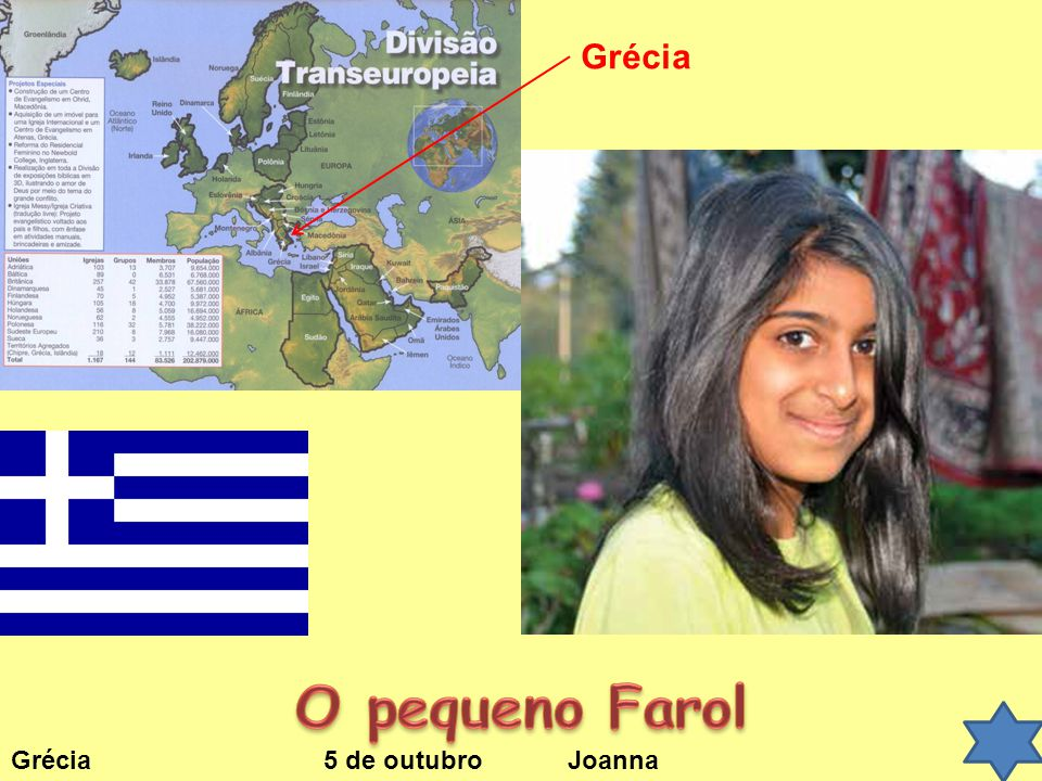 Grécia O pequeno Farol Grécia 5 de outubro Joanna