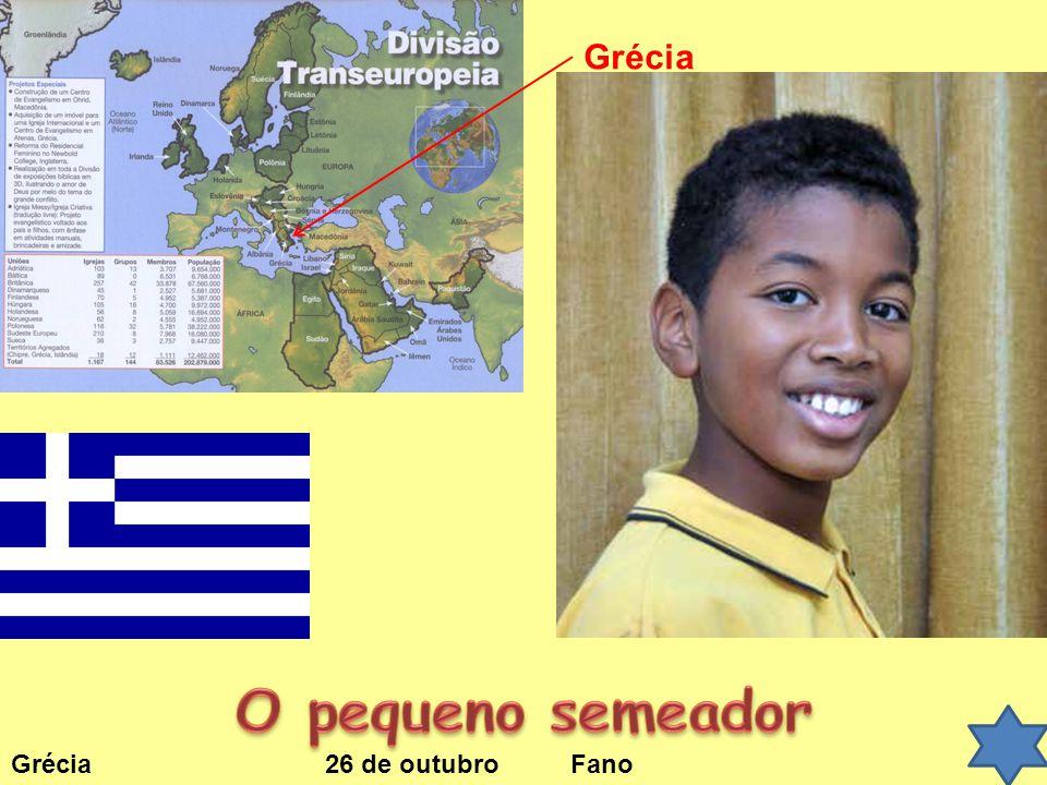 Grécia O pequeno semeador Grécia 26 de outubro Fano