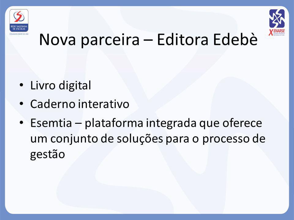 Nova parceira – Editora Edebè