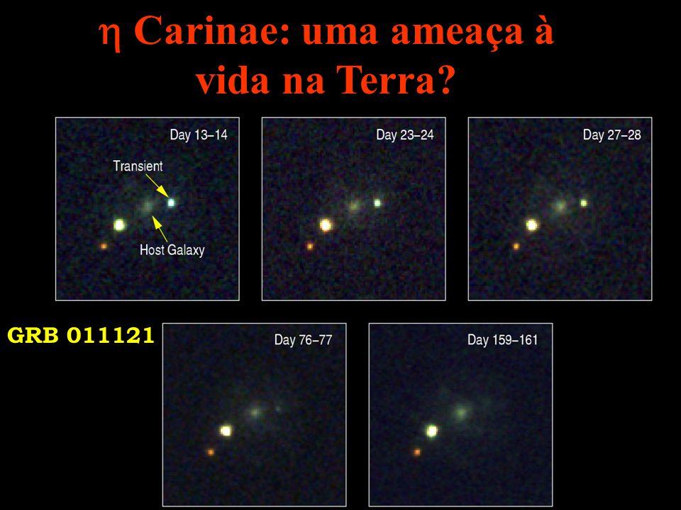 Carinae: uma ameaça à vida na Terra