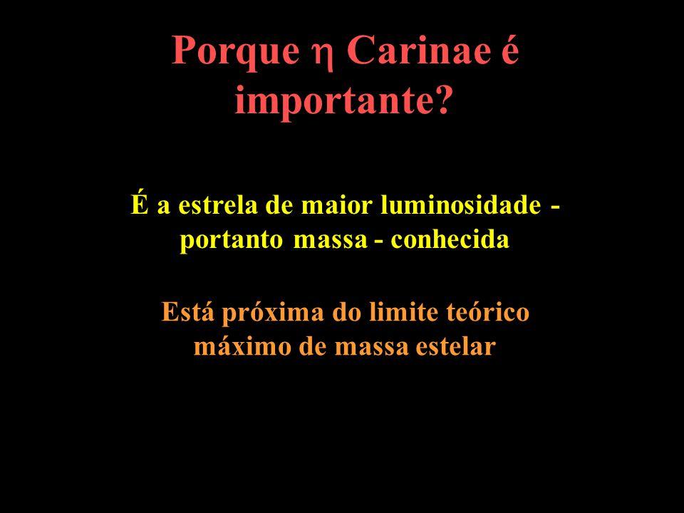 Porque  Carinae é importante