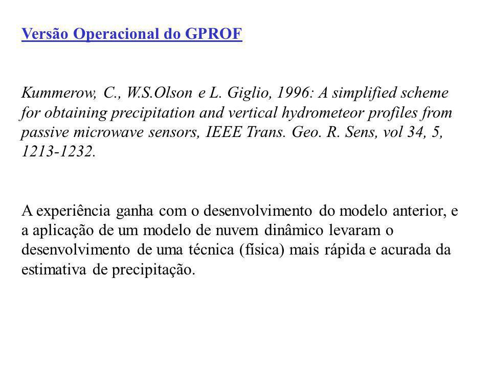 Versão Operacional do GPROF