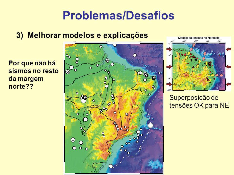Problemas/Desafios 3) Melhorar modelos e explicações