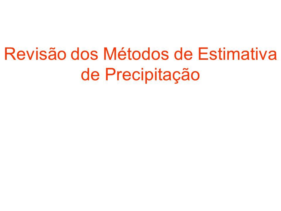 Revisão dos Métodos de Estimativa de Precipitação