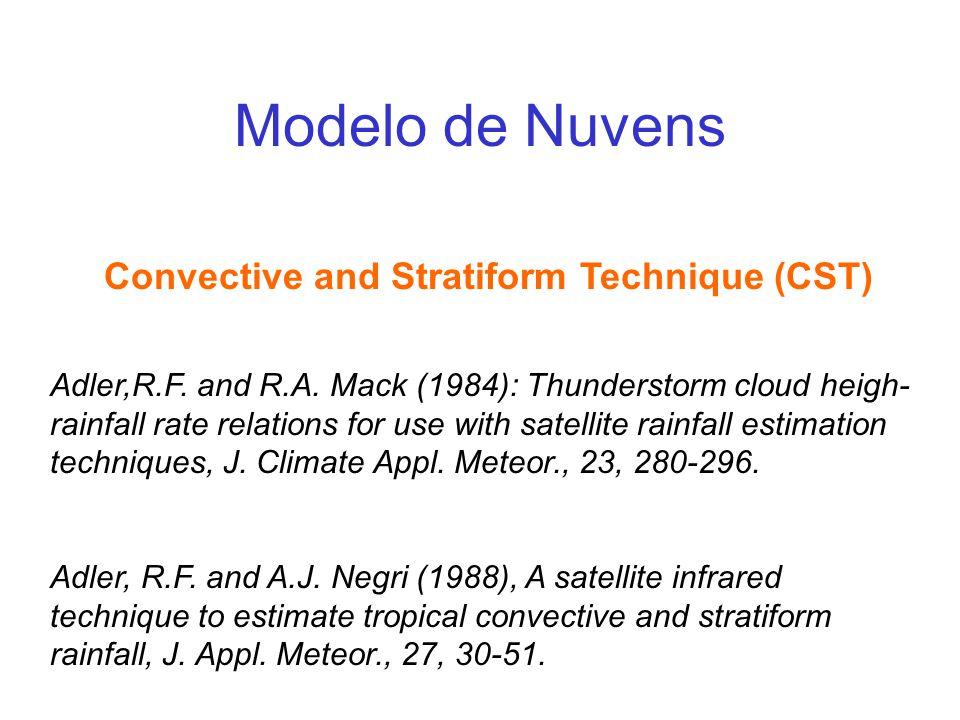 Convective and Stratiform Technique (CST)