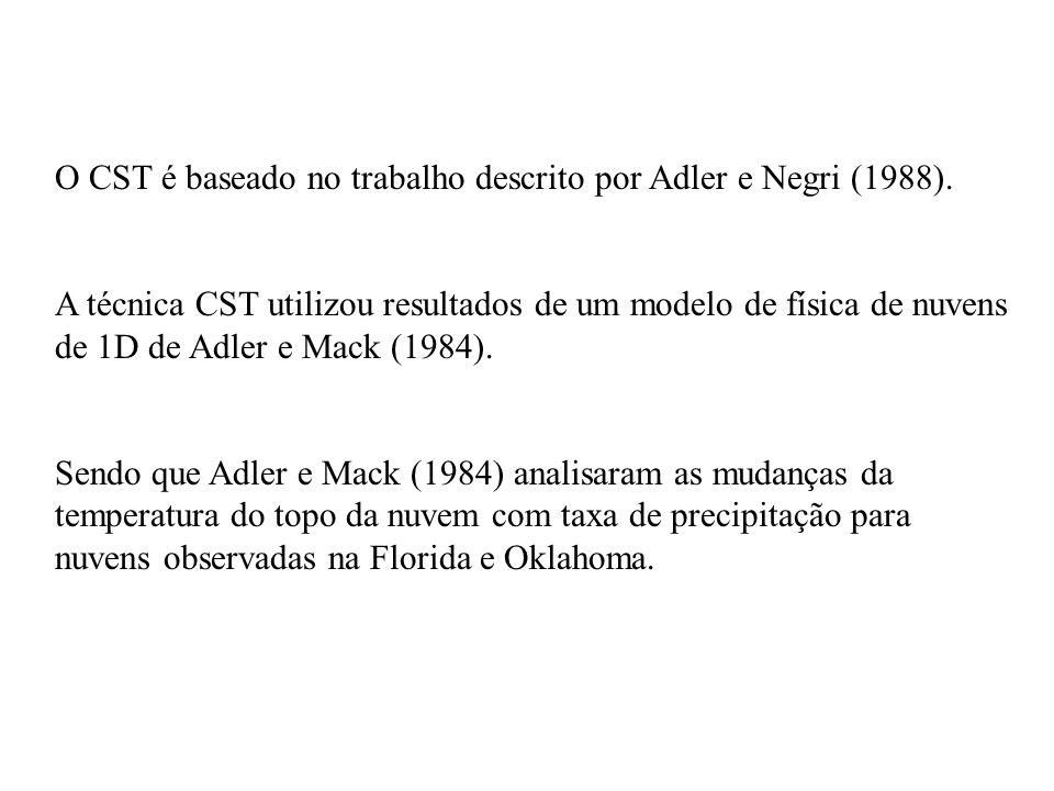 O CST é baseado no trabalho descrito por Adler e Negri (1988).