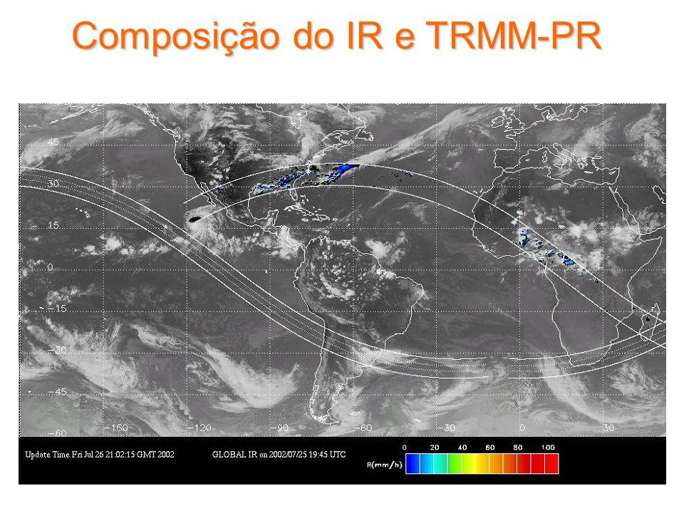 Composição do IR e TRMM-PR
