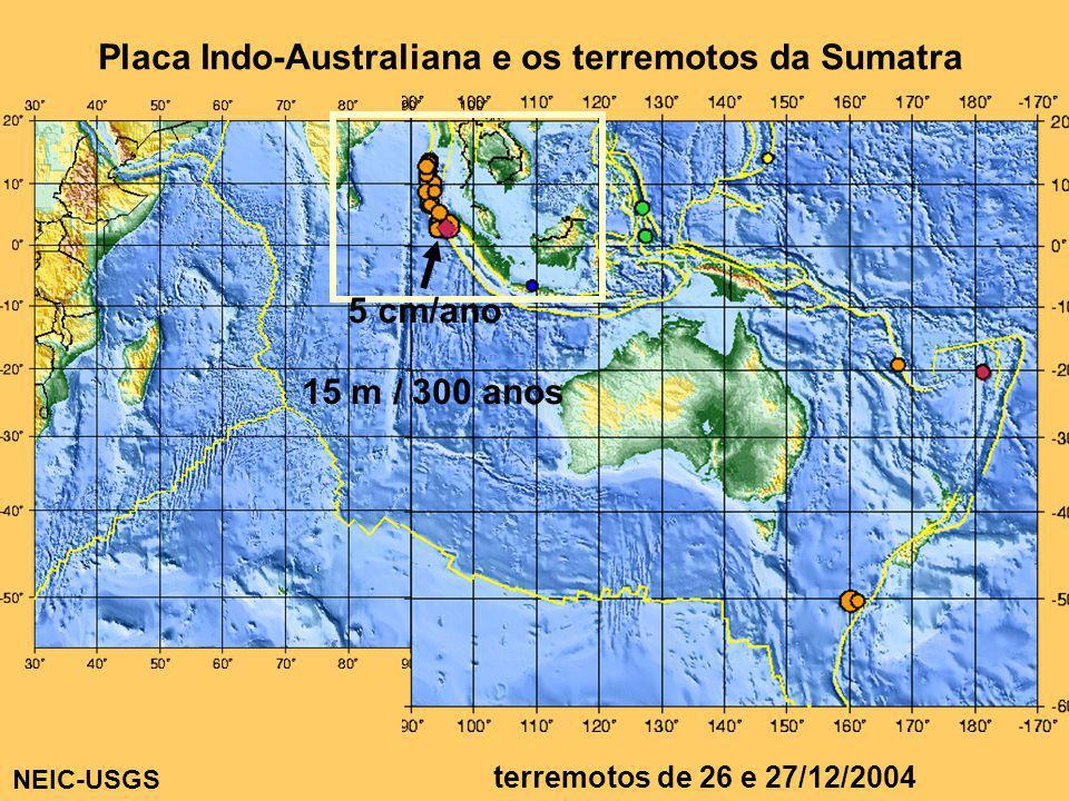 Placa Indo-Australiana e os terremotos da Sumatra
