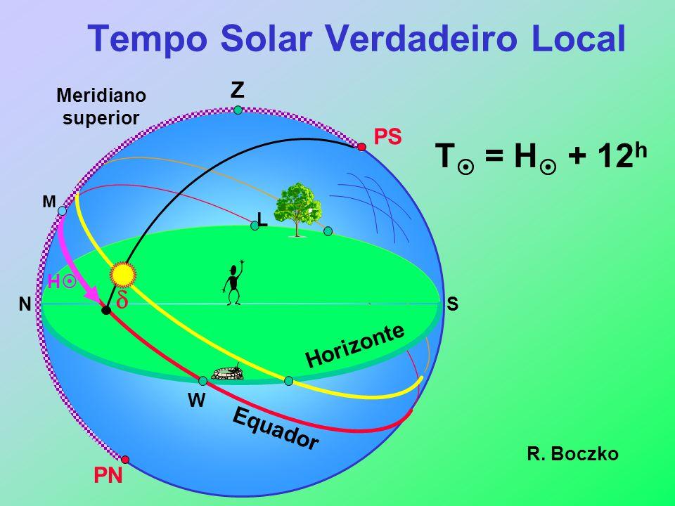 Tempo Solar Verdadeiro Local