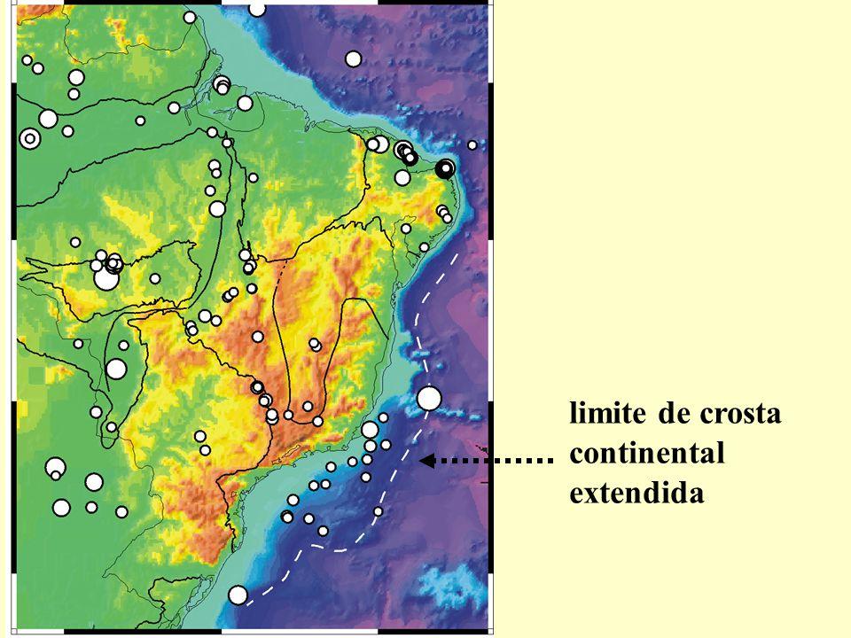 limite de crosta continental extendida