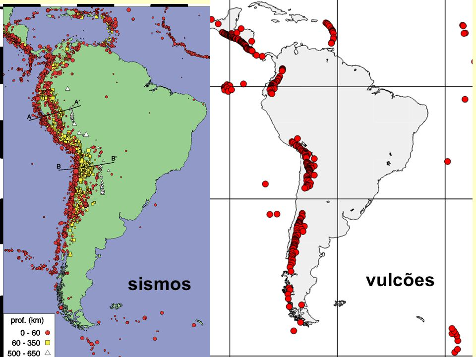 vulcões sismos
