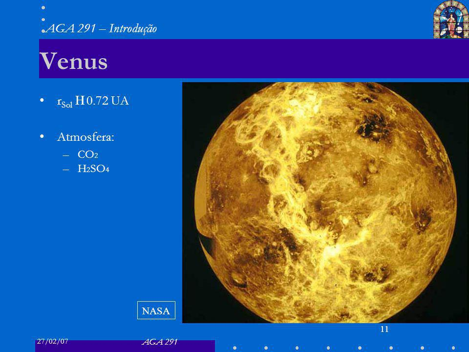Venus rSol ≈ 0.72 UA Atmosfera: CO2 H2SO4 NASA