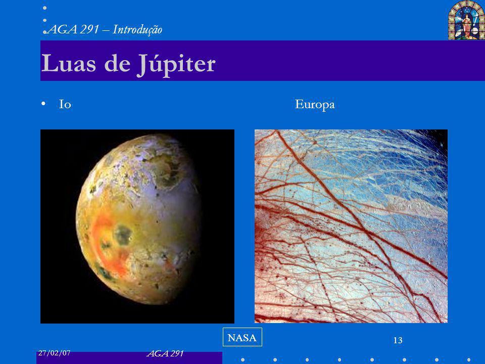Luas de Júpiter Io Europa NASA