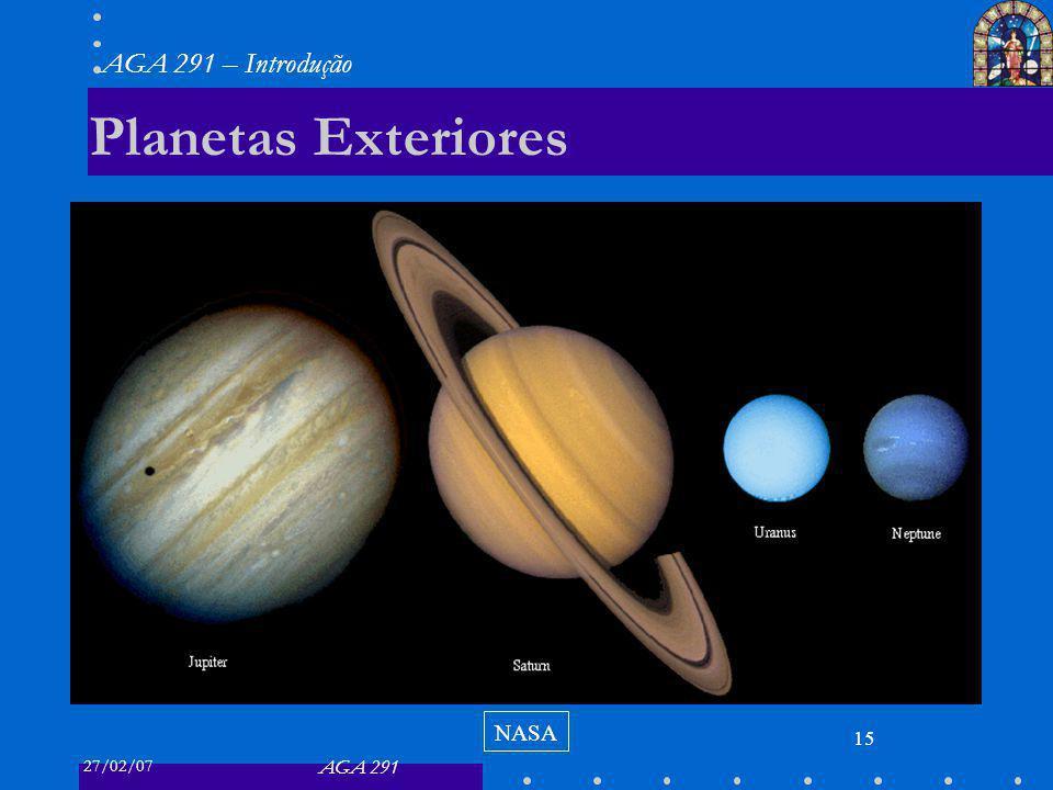 Planetas Exteriores NASA