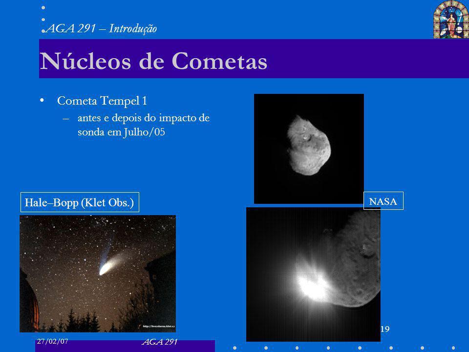 Núcleos de Cometas Cometa Tempel 1