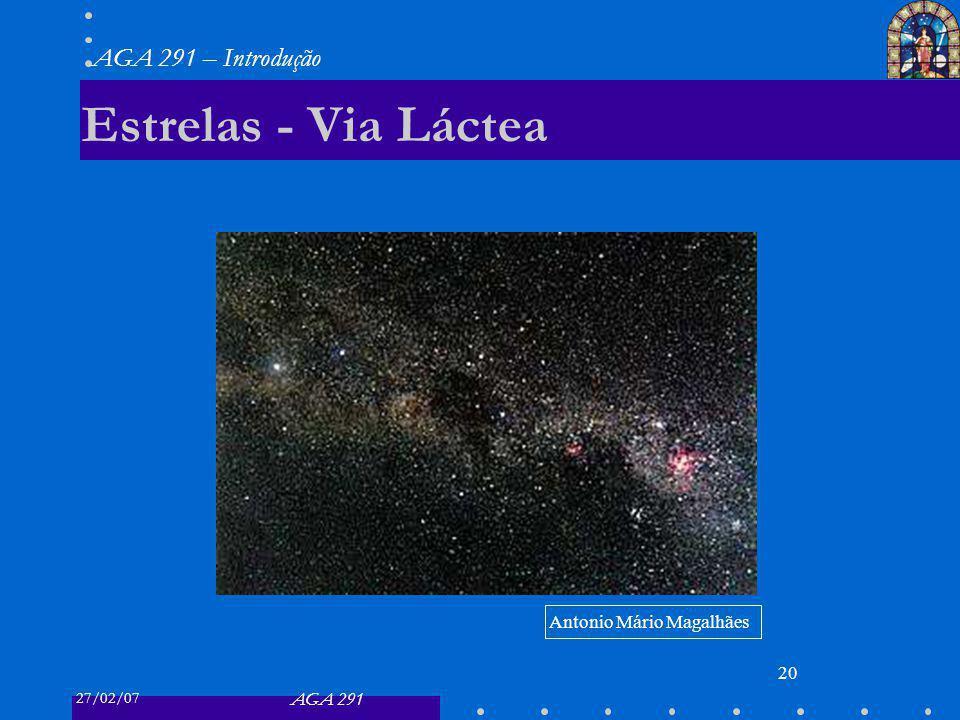 Estrelas - Via Láctea Antonio Mário Magalhães