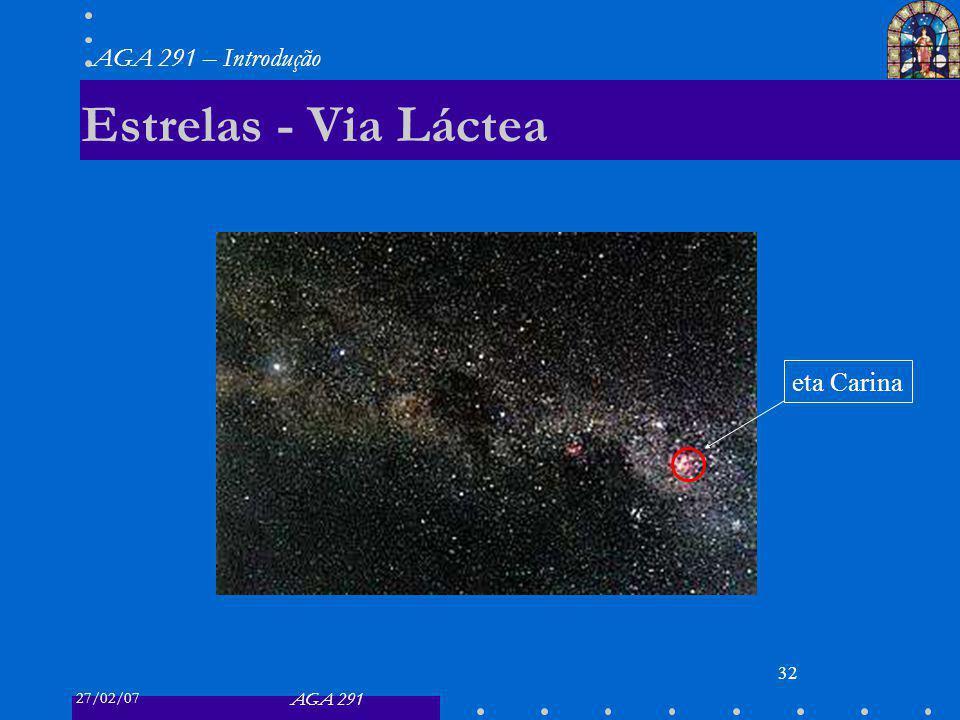Estrelas - Via Láctea eta Carina
