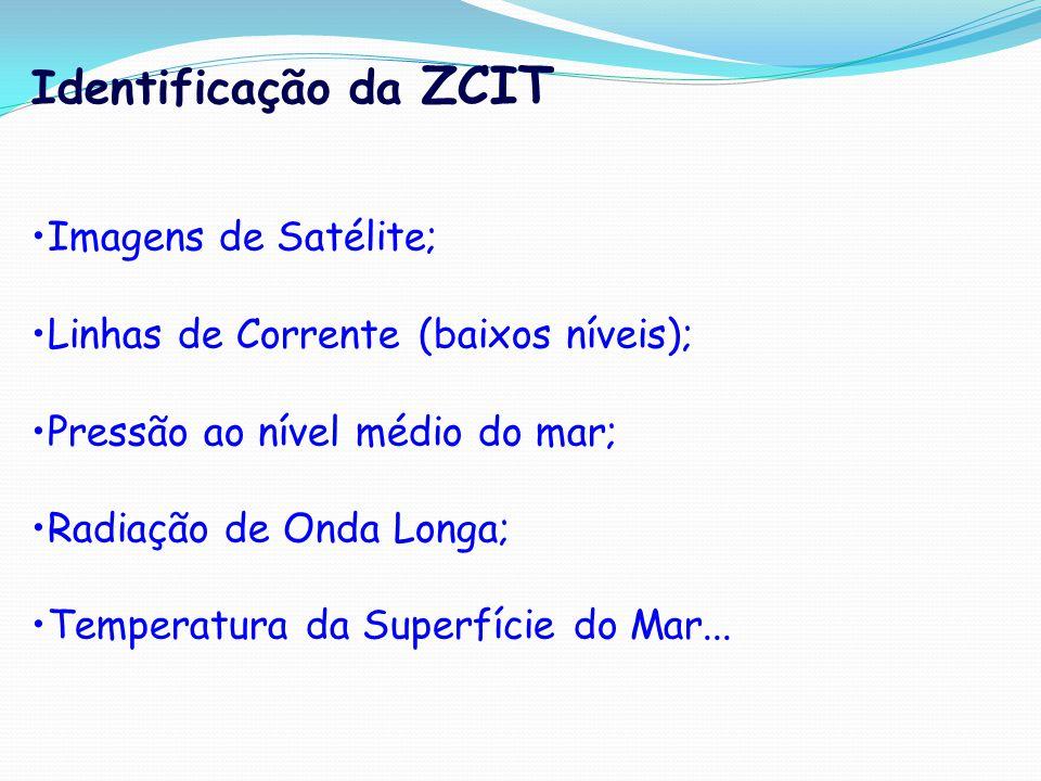 Identificação da ZCIT Imagens de Satélite;