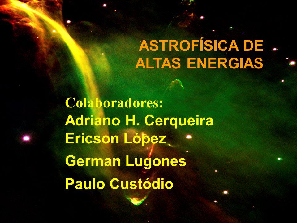 ASTROFÍSICA DE ALTAS ENERGIAS
