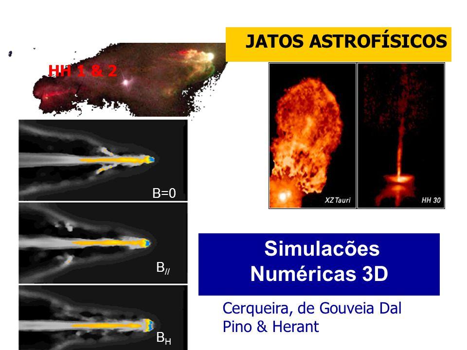 Simulacões Numéricas 3D