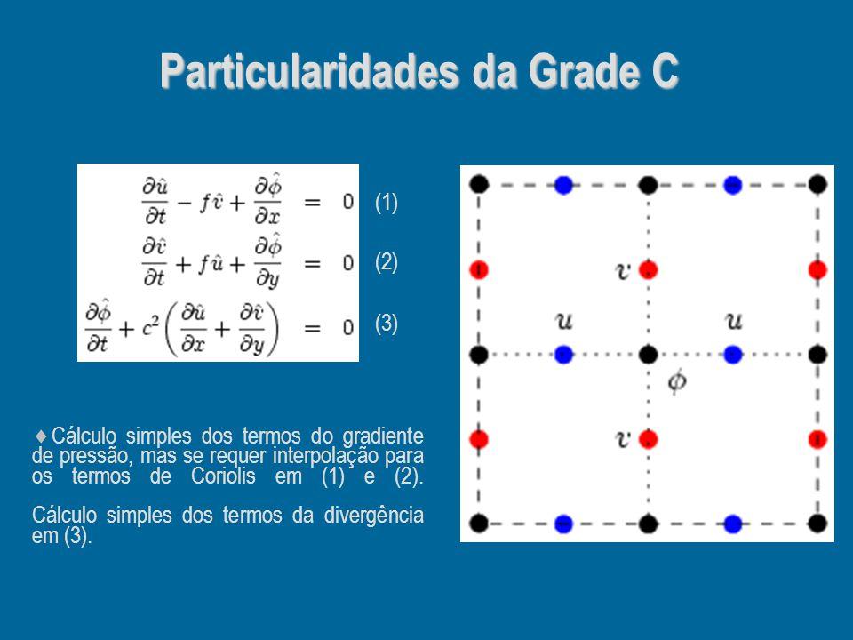 Particularidades da Grade C