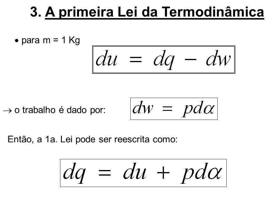 3. A primeira Lei da Termodinâmica