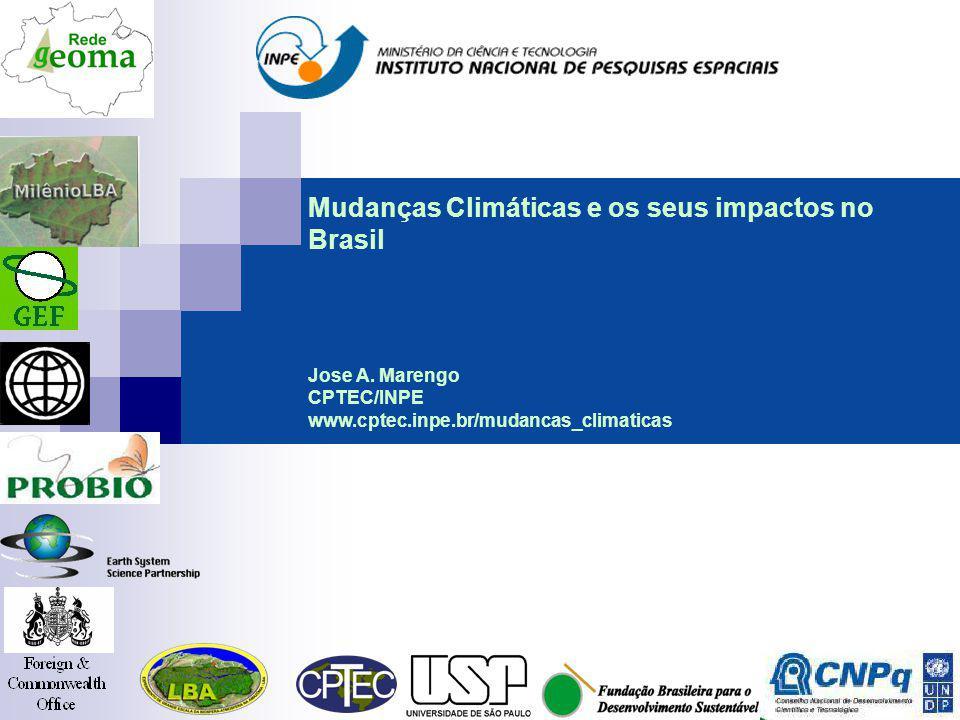 Mudanças Climáticas e os seus impactos no Brasil