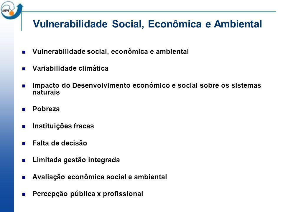 Vulnerabilidade Social, Econômica e Ambiental