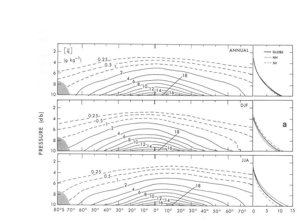 Umidade específica média zonal da atmosfera (g/kg)
