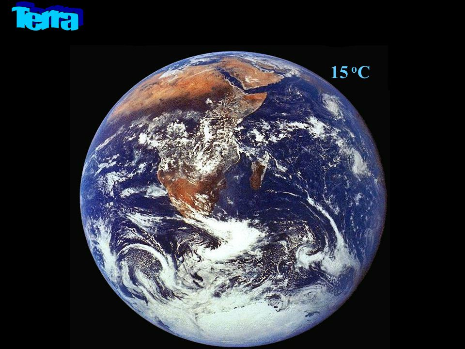 Terra 15 oC