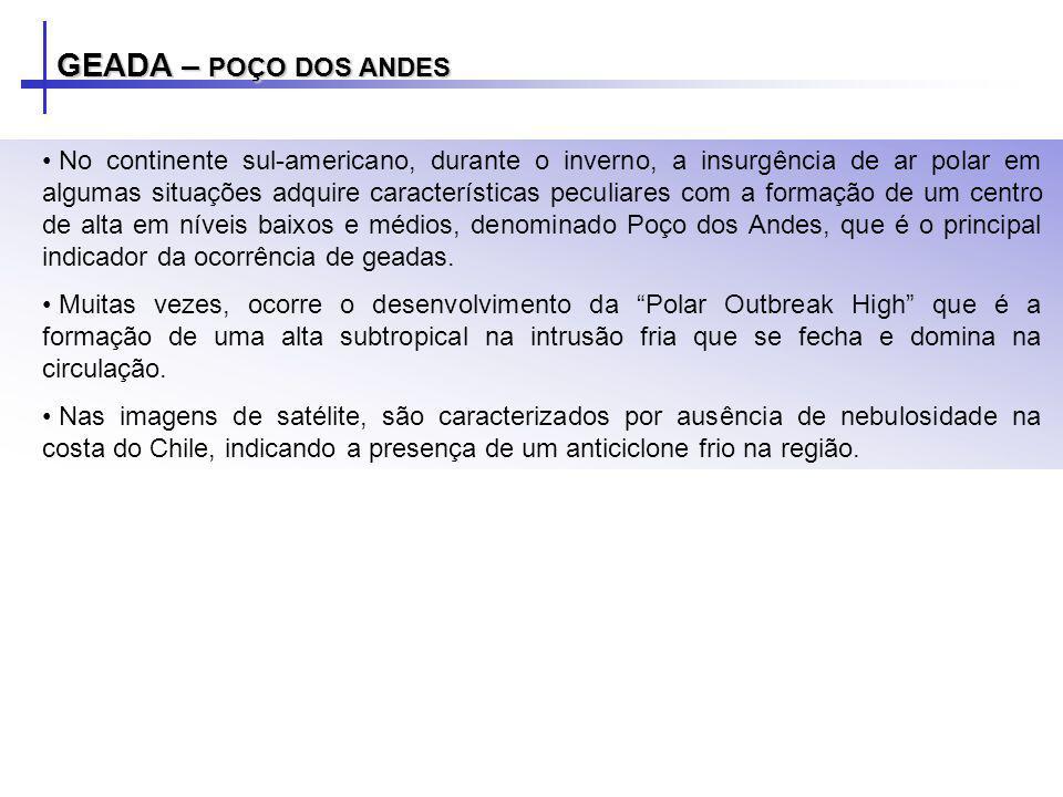 GEADA – POÇO DOS ANDES