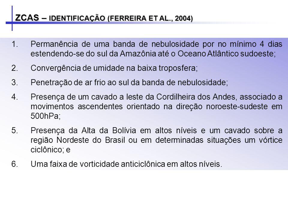ZCAS – IDENTIFICAÇÃO (FERREIRA ET AL., 2004)