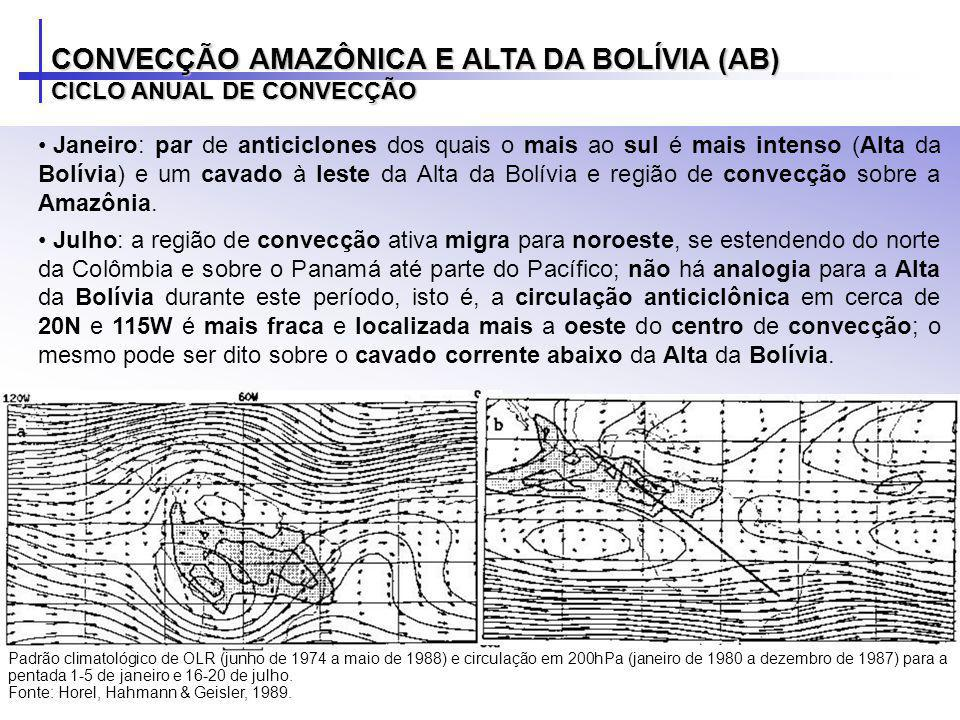 CONVECÇÃO AMAZÔNICA E ALTA DA BOLÍVIA (AB)
