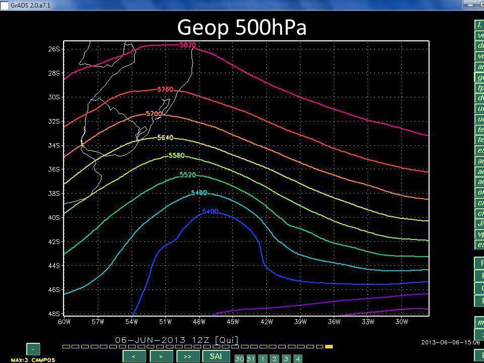 Geop 500hPa