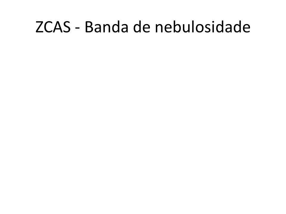 ZCAS - Banda de nebulosidade
