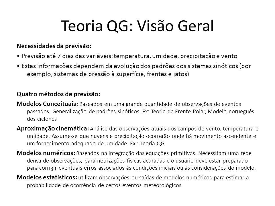 Teoria QG: Visão Geral