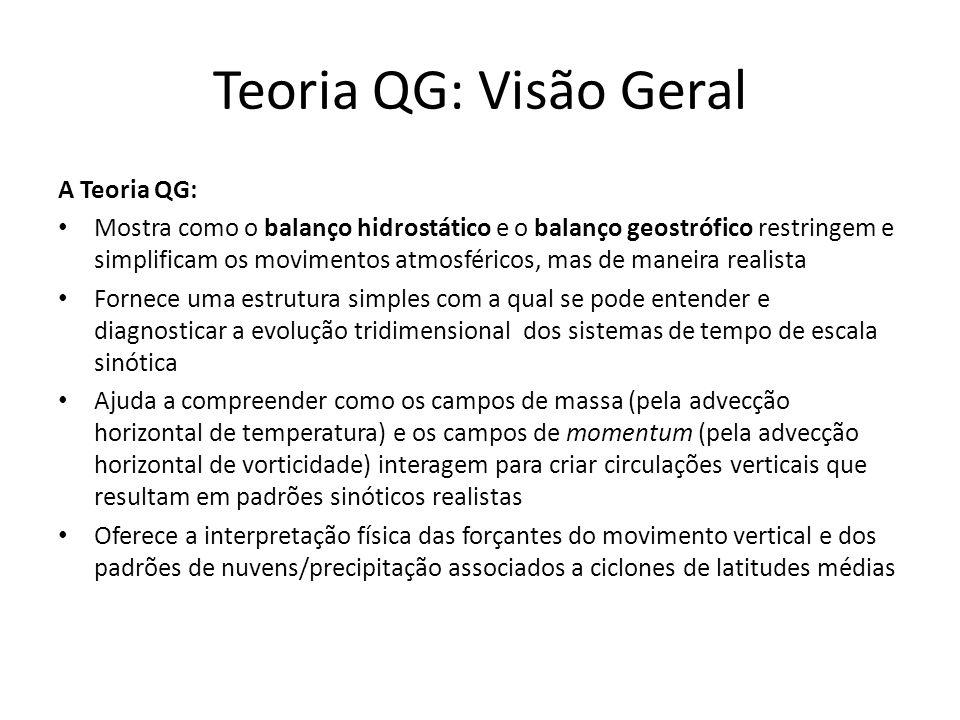 Teoria QG: Visão Geral A Teoria QG: