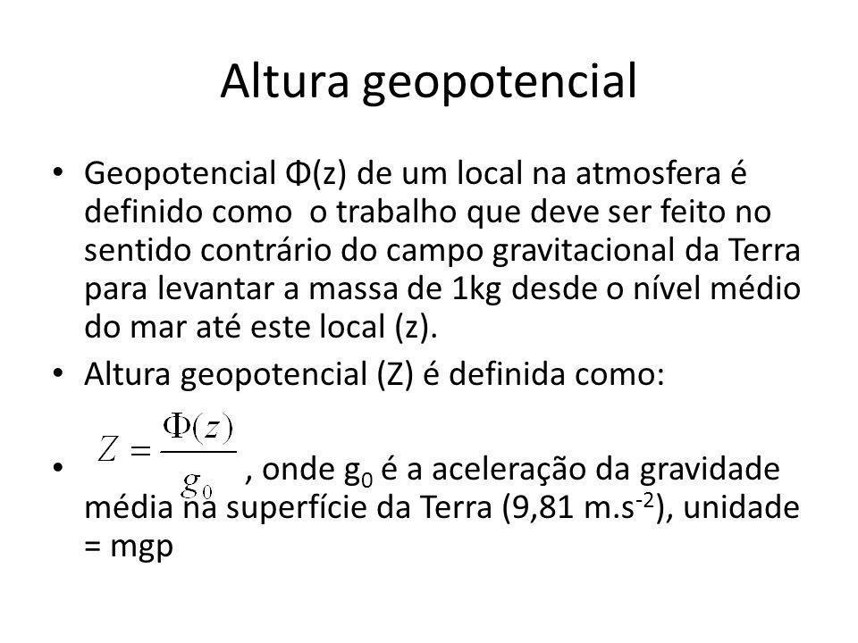 Altura geopotencial