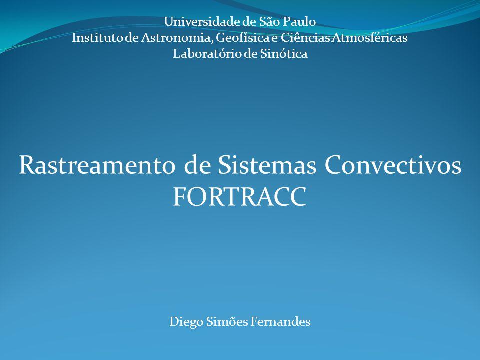 Rastreamento de Sistemas Convectivos FORTRACC