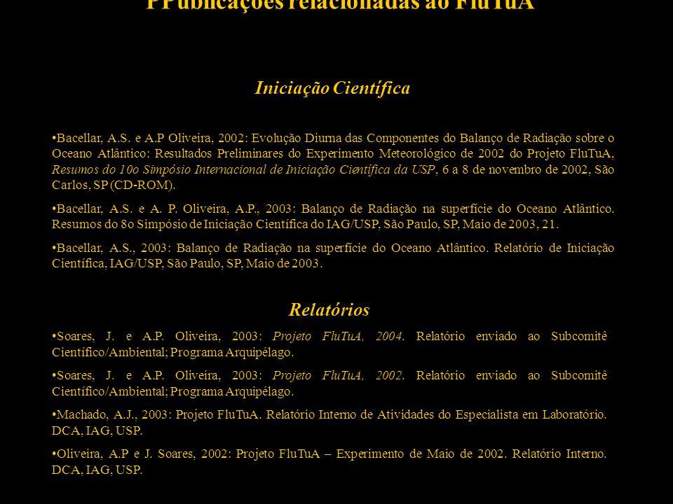 PPublicações relacionadas ao FluTuA